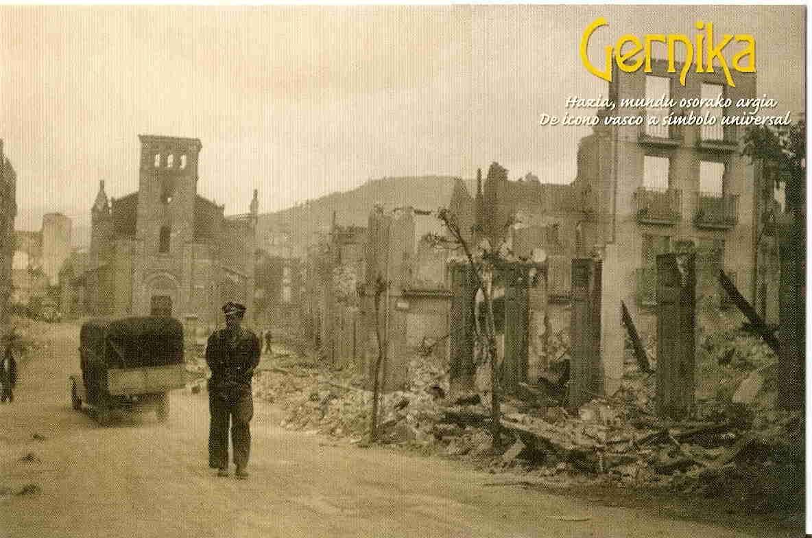 news german bombs rain civilian spanish town guernica